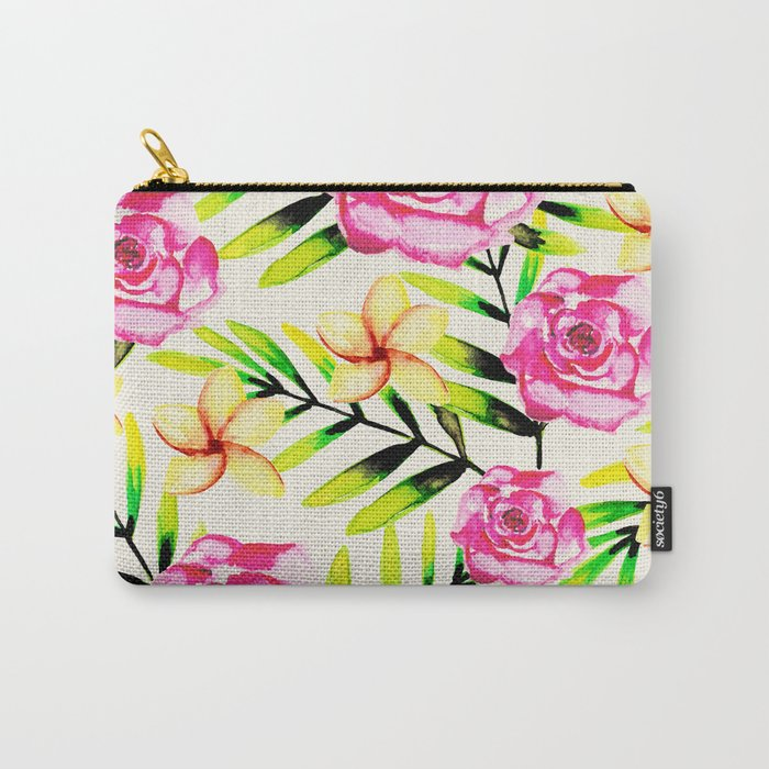 Tropical Gal Carry-All Pouch