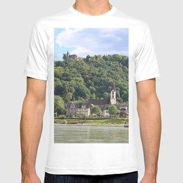 Burg Osterspai am Rhein T-shirt