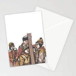 Tongue Freeze Stationery Cards