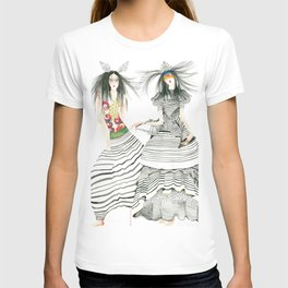 galina sokolova STRIPE ON T-shirt