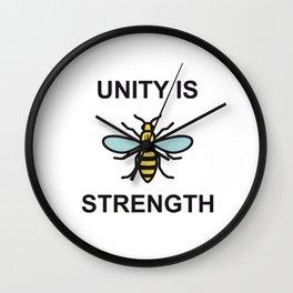 Unity is Strength Wall Clock