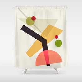 Cocktail IV Martini Shower Curtain