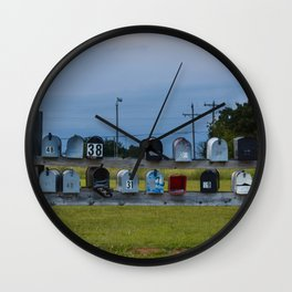 Mail Time Wall Clock