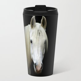 The white Arabian  Travel Mug