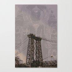 Buddha Bridge Canvas Print