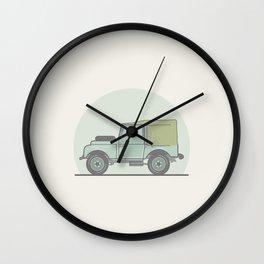 Series 1 Landrover Defender Wall Clock