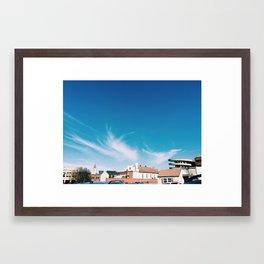 Central Market Framed Art Print