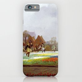 Jean-Leon Gerome - The Tulip Folly - Digital Remastered Edition iPhone Case