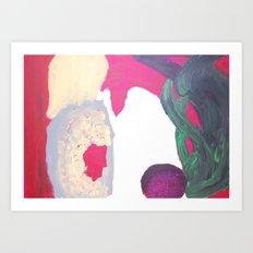 Figuren (characters) Art Print