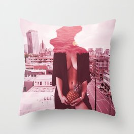 Welcome to L.A. Sweetheart Throw Pillow