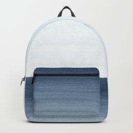 Ocean Watercolor Painting No.1 Backpack