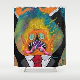 Nightosphere Trump // DRTARTS Shower Curtain