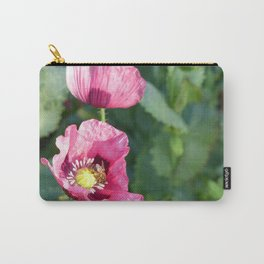 Bee a Poppy Carry-All Pouch