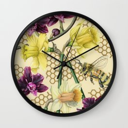 Over the Fence Wall Clock