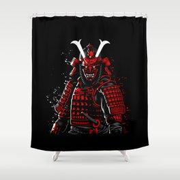Demon Samurai Shower Curtain