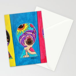 Keyhole Dimensions Stationery Cards
