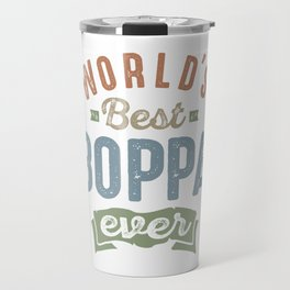 World's Best Boppa Travel Mug