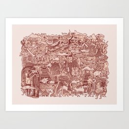 All Belong Together Art Print