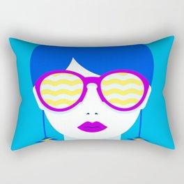 Sunglasses babe Rectangular Pillow