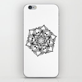 MandalArt Flower iPhone Skin