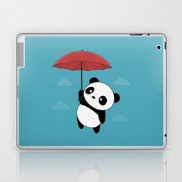 Kawaii Cute Panda With Umbrella Laptop & iPad Skin