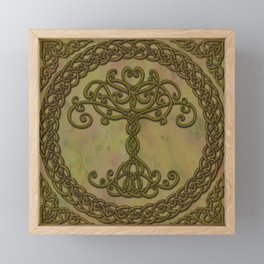 Celtic Tree of Life I Framed Mini Art Print