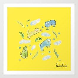 sunday mood Art Print