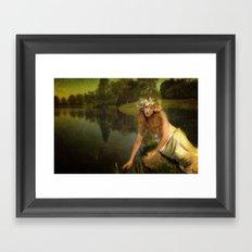 The water Maiden Framed Art Print