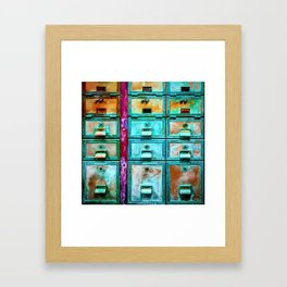 Mailbox (Hyper Color Remix) Framed Art Print