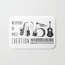 Weapons Of Mass Creation - Music Bath Mat