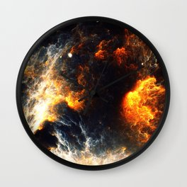 Firestorm Wall Clock