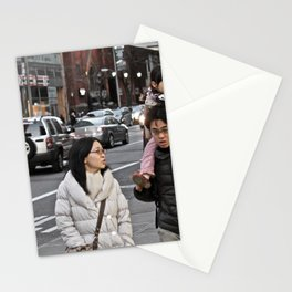 Unknown Faces In Different Places (Pt 1 - NYC, NY) Stationery Cards