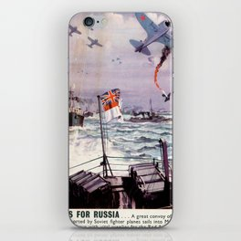 Arms for Russia iPhone Skin