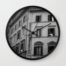 Welcome to a New Morning Wall Clock