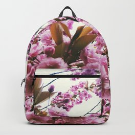 pink blossom Backpack