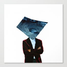 Mr. Charybdis (Handmade Collage) Canvas Print