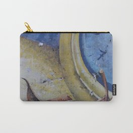 Clock Time with leaf Illustration Carry-All Pouch