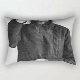 Rasputin The Mad Monk Rectangular Pillow