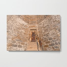 If These Prison Walls Could Talk Metal Print
