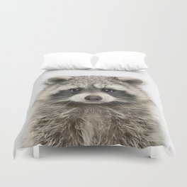 Raccoon Duvet Cover