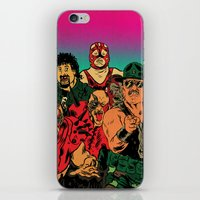 old school iPhone & iPod Skins featuring OLD SCHOOL by alexis ziritt