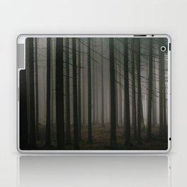 Dark morning forest Laptop & iPad Skin