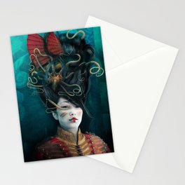 Queen of the Wild Frontier Stationery Cards