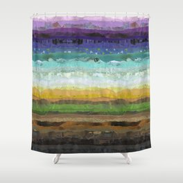 Sunday Brunch Shower Curtain