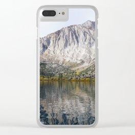 Convict Lake Clear iPhone Case