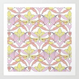 Interwoven XX_Cherry Blossom Art Print
