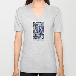 It's A Jungle Out There Unisex V-Neck