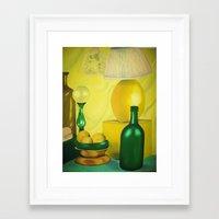 kitchen Framed Art Prints featuring Kitchen by Michelle K.