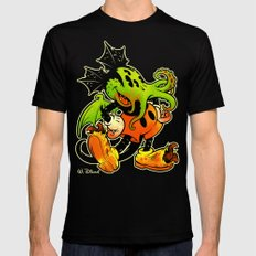 MICKTHULHU MOUSE (color) Mens Fitted Tee Black X-LARGE