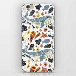 Sea Pattern #1 iPhone Skin